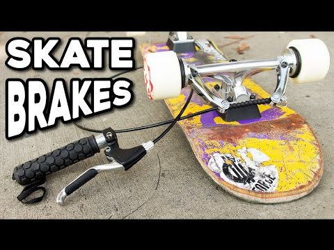 HANDHELD SKATE BRAKES?! How Have I Never Seen These?!
