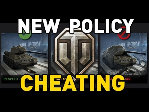 Cheating in World of Tanks - New Policy!