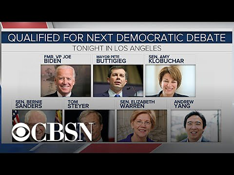 What to expect as Democratic candidates debate tonight in Los Angeles