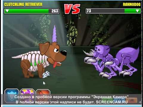 Прохождение игры Mutant Fighting №1