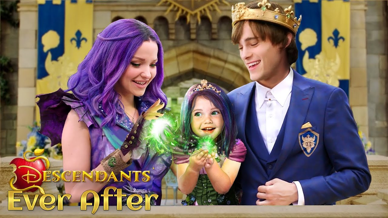 Download Descendants 3 Ever After: Mal and Ben have a daughter! The Princess of Auradon 💜💚 | Alice Edit!