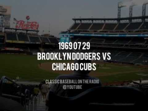 1969 07 29 LA Dodgers vs Chicago Cubs Complete OTR Broadcast (Vin Scully and Jerry Doggett)