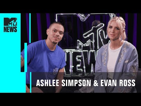 Ashlee Simpson & Evan Ross Play 'Dive In' | MTV News