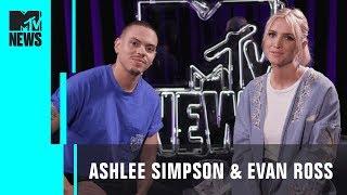 Ashlee Simpson & Evan Ross Play 'Dive In'   MTV News
