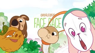 Gigglebug FACE RACE Game! Great kids game for iPhone iPad!