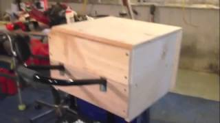 Campbell Hausfeld Air Compressor Tool Box  (diy)