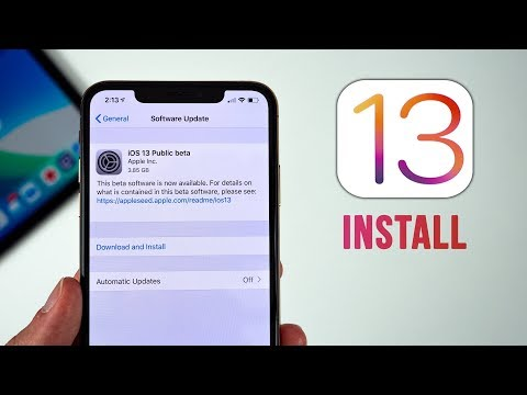 iOS 13 Public Beta Released - How to Install!