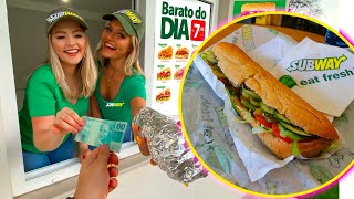 TRANSFORMEI nossa CASA no SUBWAY 🥖 ‹ Morgana Santana ›