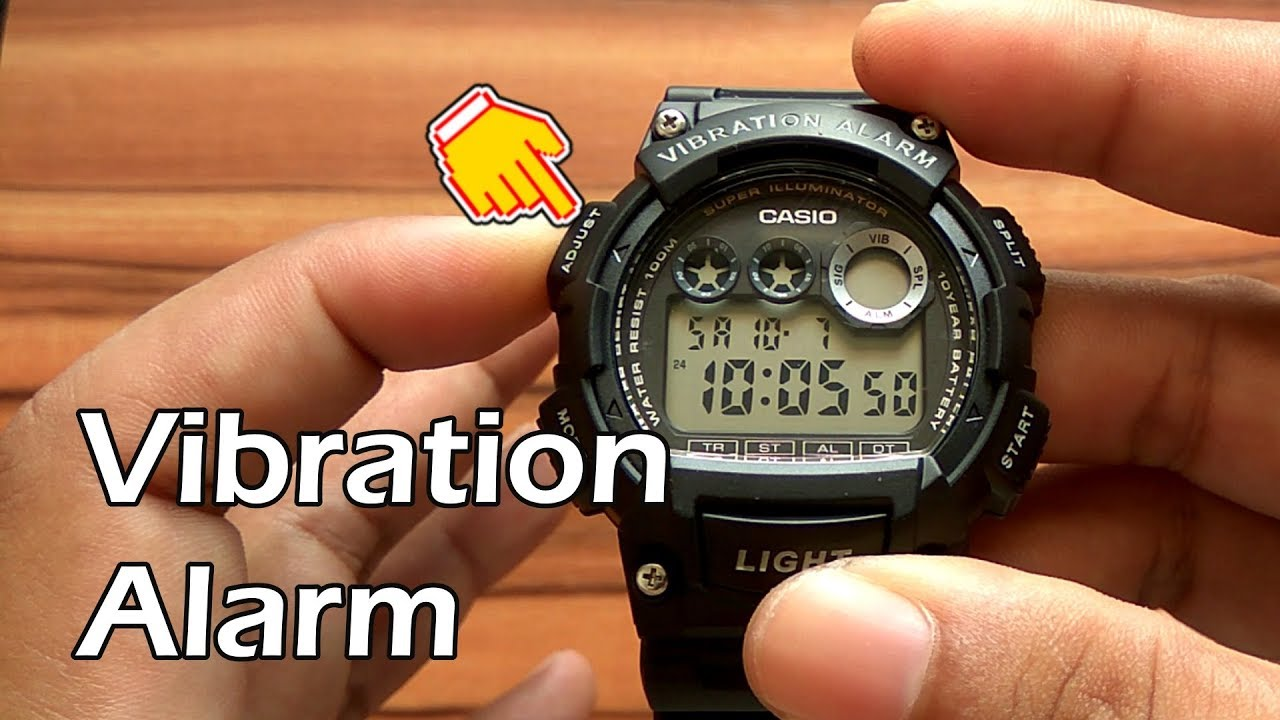 Casio Alarm 735h SettingsReview W 1avdf Vibration Watch To How EIeHY9DW2