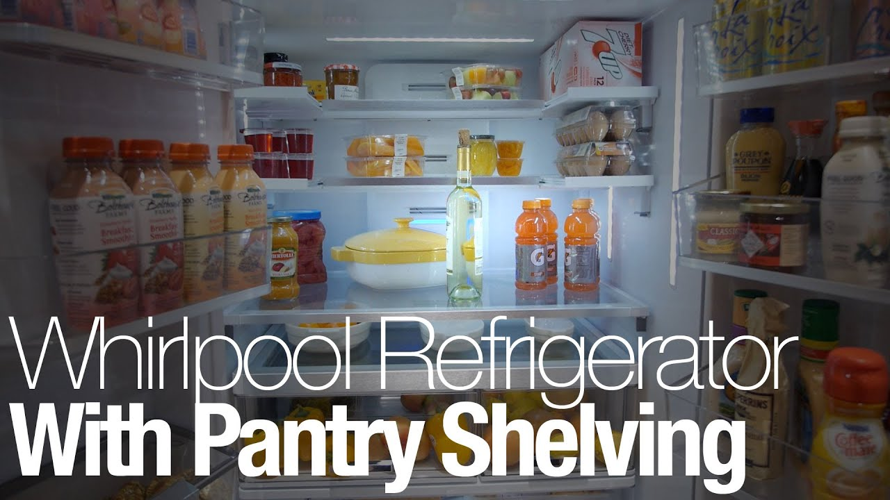 Whirlpools Latest French Door Refrigerator Has A Compartment For