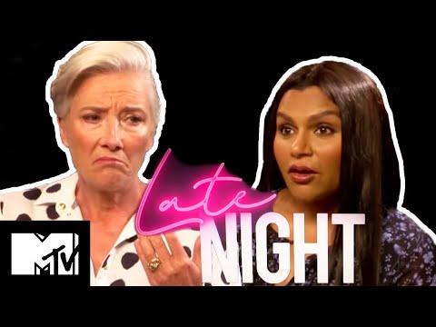 Emma Thompson & Mindy Kaling Take Our Social Media Quiz | Late Night | MTV Movies