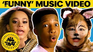 "LeiKeli47 Inspired ""Funny"" Parody Music Video feat. Ariana Grande, Beyoncé and More! All That Video"