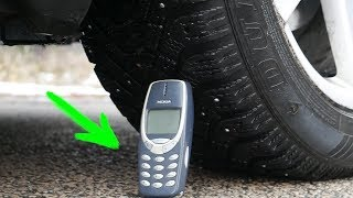 EXPERIMENT: CAR vs NOKIA 3310