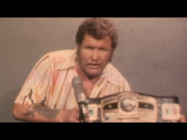 Harley Race discusses what it means to be World Champion: Championship Wrestling From Florida