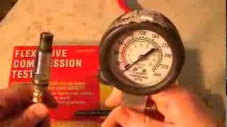 harbor freight compression leak down tester   2 in 1 engine tool