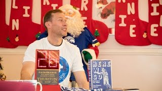 Big Dunc becomes bingo caller as EITC host Christmas party at local retirement home