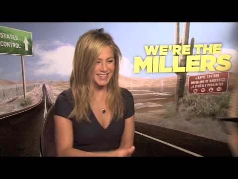Jennifer Aniston gets called a bad actress - takes it pretty well - We're The Millers interview