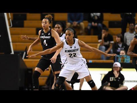 Women's Basketball: Cincinnati at UCF