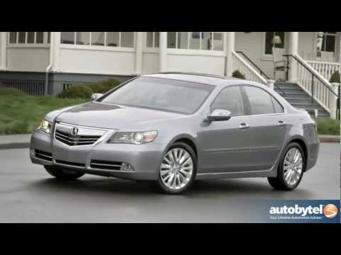2012 Acura RL Test Drive & Luxury Car Video Review