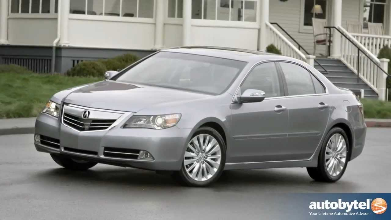 2012 Acura Rl Test Drive Amp Luxury Car Video Review Youtube
