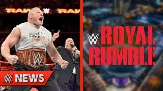 Royal Rumble PPV Plans! Universal Title WrestleMania 35 Plans! - WWE News Ep. 203