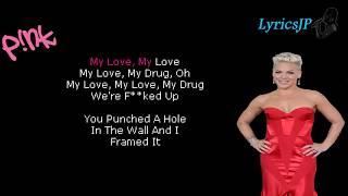Beautiful Trauma (Lyrics) - Pink