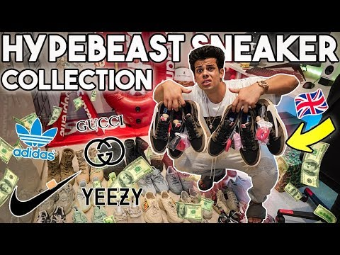 The Largest Hypebeast Sneaker Collection In The Uk !!!