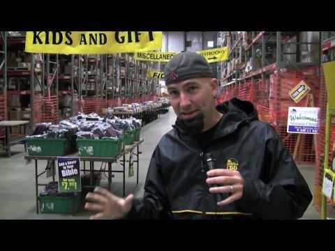Inside CBD's Warehouse Sale