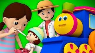 บ๊อบรถไฟ | นางสาวพอลลี่มีดอลลี่ | เพลงสำหรับเด็ก | บทกวีในภาษาไทย | Bob Train Miss Polly had a Dolly