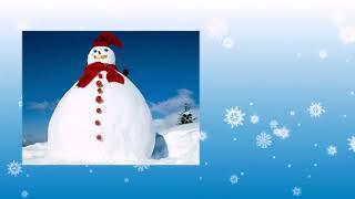 Зимняя сказка - шаблон слайд-шоу