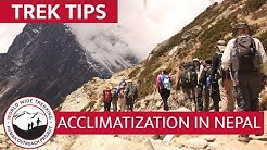 How to Acclimatize to High Altitude at Everest Base Camp | Trek Tips