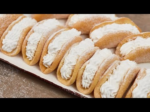 Paradise sponge cannoli a sweet treat to die for