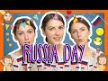 Russian RUSSIA DAY words with Katya