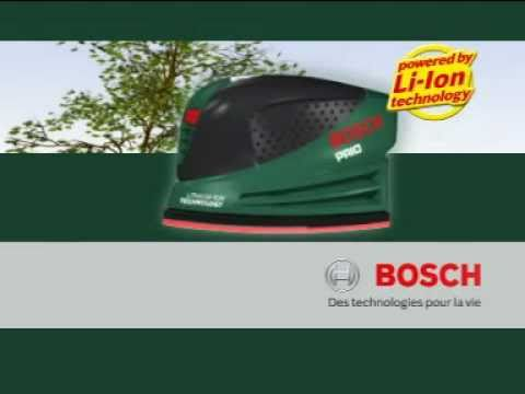 ponceuse multi bosch prio youtube. Black Bedroom Furniture Sets. Home Design Ideas