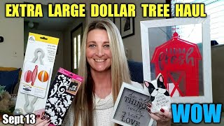 EXTRA LARGE DOLLAR TREE HAUL 😯 AMAZING ITEMS | MUST SEE❤