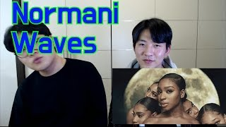 Normani - Waves (feat. 6LACK) Reaction video !!