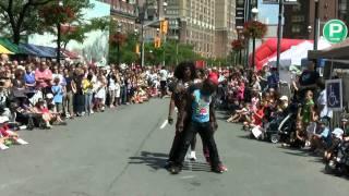 Calypso Tumblers Street Acrobatics.. Amazing!