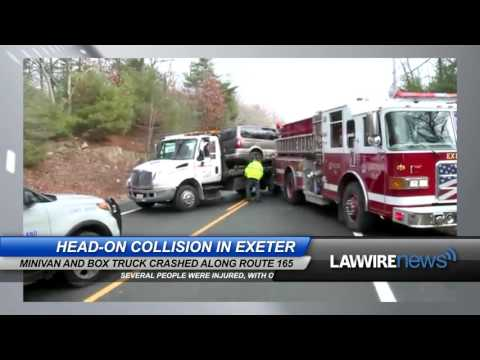 Head-On Collision in Exeter | Law Wire News | January 2016