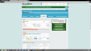 Marketwatch Tutorial 6-What do the numbers in the portfolio mean?