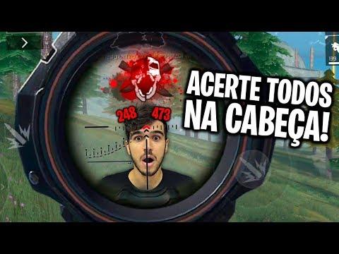 MELHORES DICAS PARA SÓ DAR HEADSHOT NO FREE FIRE!! (segredo revelado)