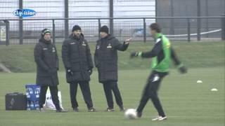 Borussia Mönchengladbach vor dem Spiel gegen Schalke 04