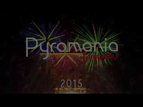 Pyromania Fireworks - EC 2015 - Part Two