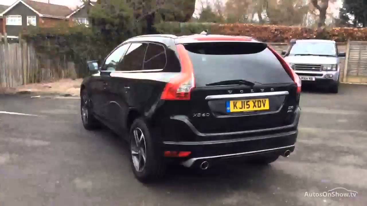 volvo xc60 d5 r design lux nav awd black 2015 youtube. Black Bedroom Furniture Sets. Home Design Ideas