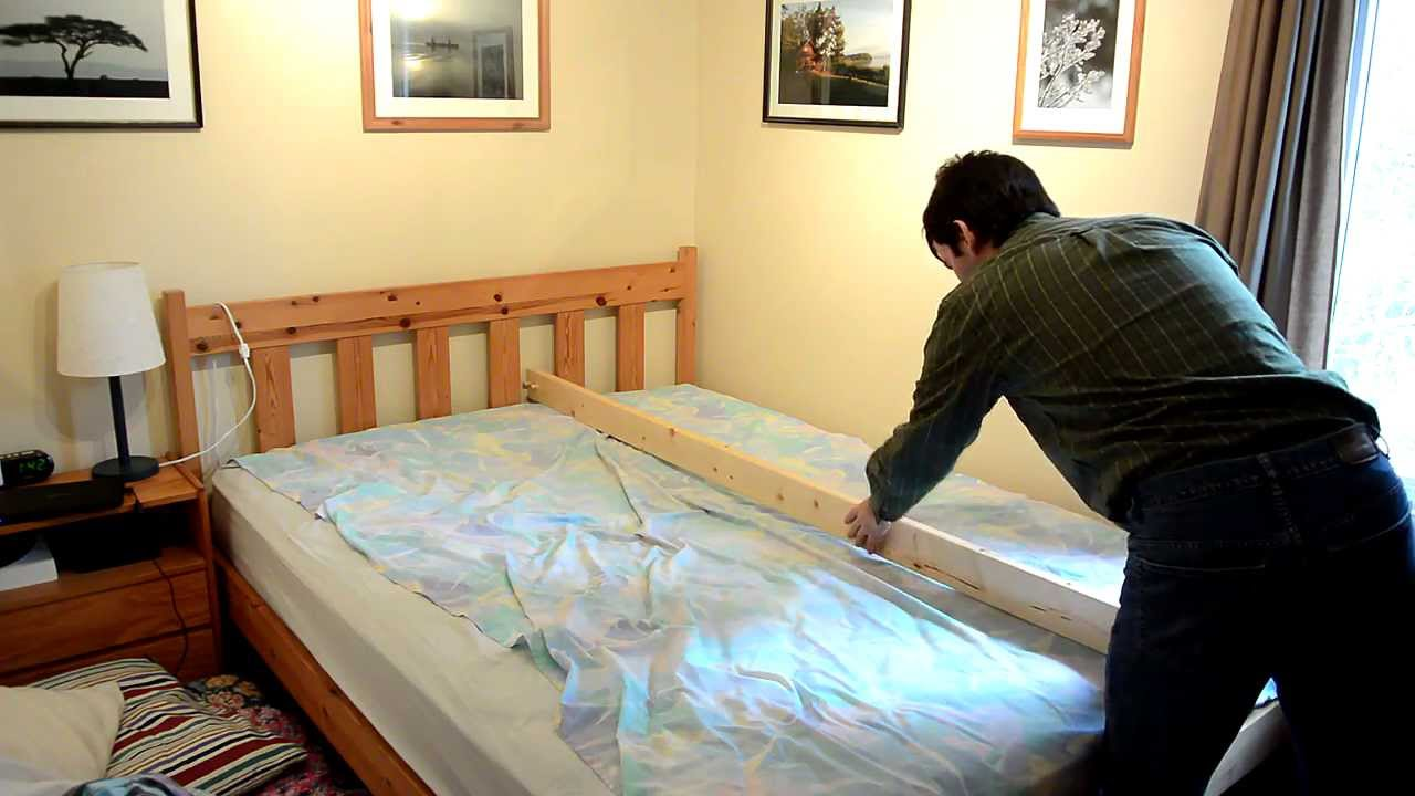 Bed Baby Barrier Youtube