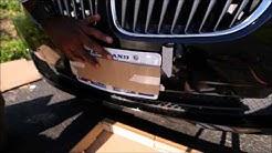 Installing The Skene Design Licence Plate Bracket On A BMW Z4
