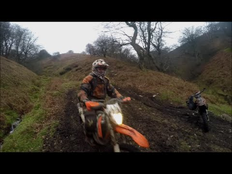 South Wales Enduro Riding 2,3 and 4 Stroke Valleys