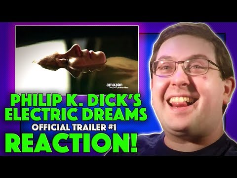 REACTION! Philip K. Dick's Electric Dreams Trailer #1 - Amazon Video Series 2017