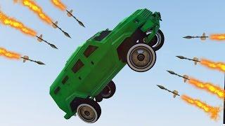 قراند 5 : السيارات الطائرة ضد صواريخ آر بي جي !!
