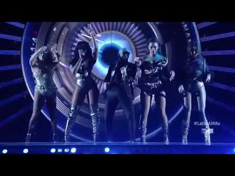 Pitbull Feat Fifth Harmony - Por Favor (Live @ Latin American Music Awards 26/10/2017)
