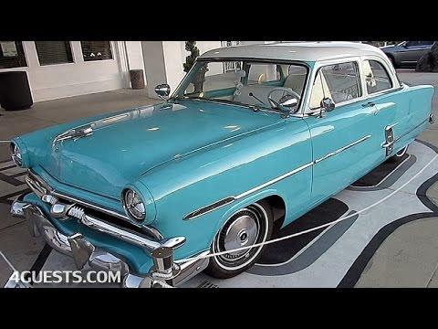 1953 ford customline i love lucy theme youtube for 1953 ford customline 4 door